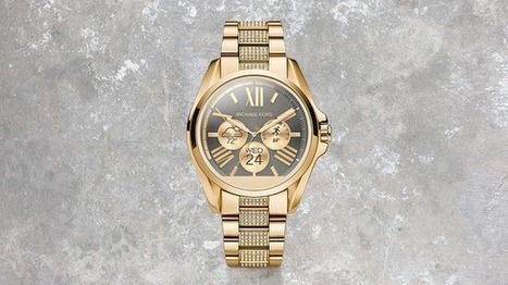 Michael Kors New Smartwatches Making A Statement | Wearable Tech and the Internet of Things (Iot) | Scoop.it