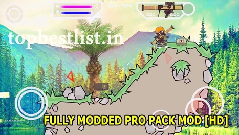 Mini Militia 30147 Latest Mod With Pro Pack