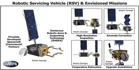 Program aims to facilitate robotic servicing of geosynchronous satellites | International Television, Broadband, Telecom and Broadcast Communications | Scoop.it