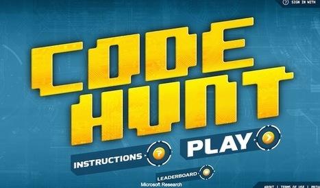 Code Hunt : un jeu pour apprendre à programmer | HighTech Actus | Scoop.it