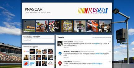Twitter lance les pages dédiées aux hashtags et s'offre sa première pub TV | Quand la communication passe au web | Scoop.it