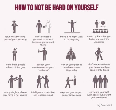 Stop Being Hard on Yourself: 12 Tips for Learning Life Lessons | 21st Century Leadership | Scoop.it
