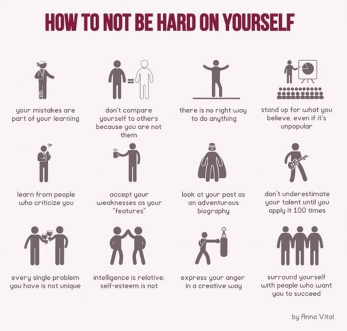 Stop Being Hard on Yourself: 12 Tips for Learning Life Lessons | Coaching Leaders | Scoop.it