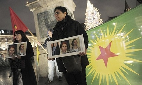 Kurdish protesters claim anti-terror police confiscated their cash | UK ... | Women and Terrorism. | Scoop.it