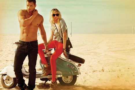 Kate Upton Gets Hot with a Shirtless Kellan Lutz on Venice Beach | blingpp | Scoop.it