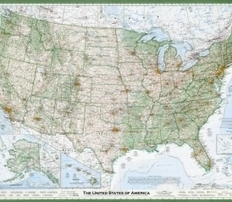 How One Guy in Oregon Made the Best U.S. Map You'll Ever See | Map@Print | Scoop.it