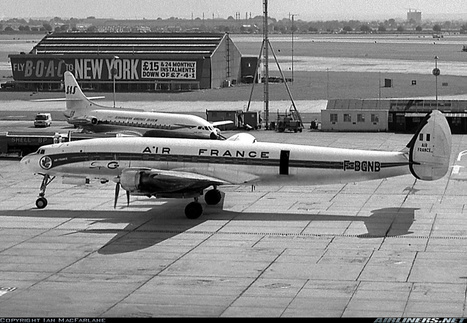 Photos: Air France Lockheed L-1049G/02 Super Constellation | Airliners | Scoop.it