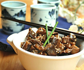 All Day I Dream About Food: Sesame Garlic Eggplant (Low Carb and Gluten-Free) | Food for Foodies | Scoop.it