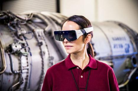 Daqri sort des lunettes de réalité augmentée en complément de son casque de chantier | Vous avez dit Innovation ? | Scoop.it