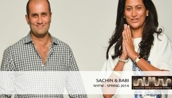 Sachin and Babi spring 2014 RTW | Why fashion is necessary | Scoop.it