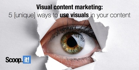 Visual content marketing 101: 5 ways to use visuals as the foundation of your content | Content Marketing and Curation for Small Business | Scoop.it