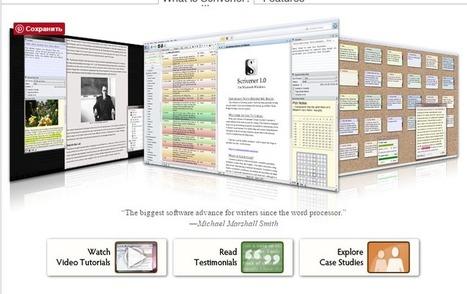 Scrivener или как организовать работу с  рукописью   Сетевые сервисы и инструменты   Scoop.it