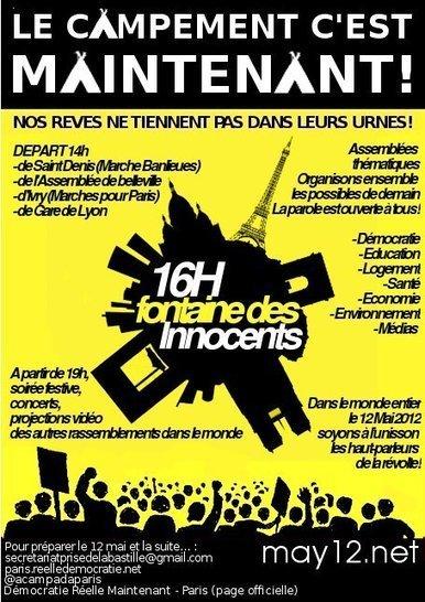 Fin de la marche banlieue pour le #12M15M : Soyez prêts   #marchedesbanlieues -> #occupynnocents   Scoop.it