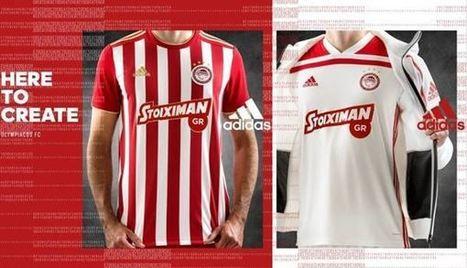 619053f93fb Olympiacos FC 2018-19 Dream League Soccer Kits   Logo