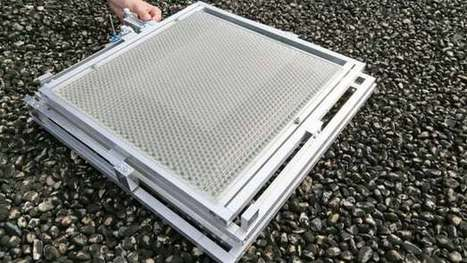 Thin plastic overlayer doubles efficiency of rooftop solar panels | Sustainable Technologies | Scoop.it