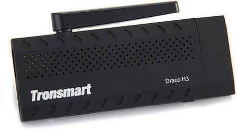 Tronsmart Draco H3 is a Low Cost HDMI TV Stick based on Allwinner H3 SoC | Embedded Systems News | Scoop.it