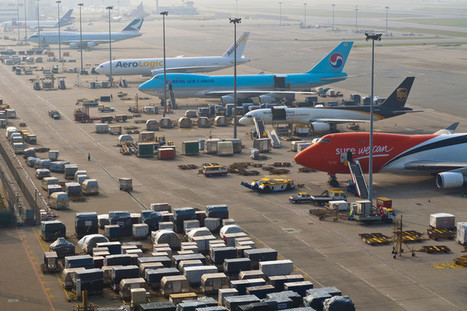 Hong Kong airport sees cargo growth in October | AIR CHARTER CARGO AND FREIGHT | Scoop.it