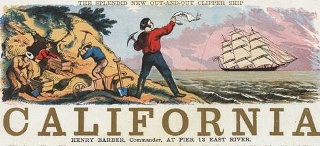 Quand la ruée vers l'or tuait une utopie californienne | La revue de presse CDT | Scoop.it