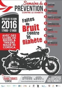 Les Diabétiques de Corse sur les routes de l'Île avec des clubs de Bikers & Trikers | ADC | Scoop.it