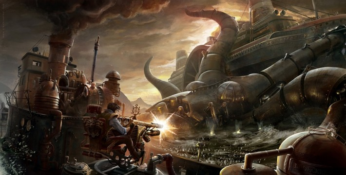 Steampunk - Digital Art | Machinimania | Scoop.it