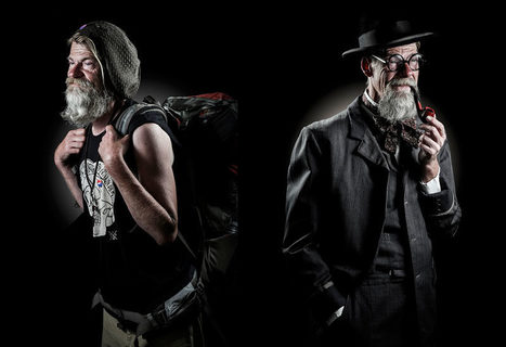 Dreams of homeless people portrait photography by Horia Manolache   photography art   Scoop.it