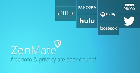 ZenMate - Your Free Privacy & Freedom companion! | Visual Intelligence | Scoop.it