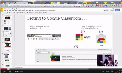 Everything Teachers Need to Know about Google Classroom ~ Educational Technology and Mobile Learning | Welcome MOOC | Scoop.it