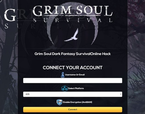 Grim Soul Dark Fantasy Survival Hack and Cheats