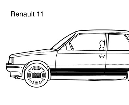 Super car Range Rover Classic Convertible color...