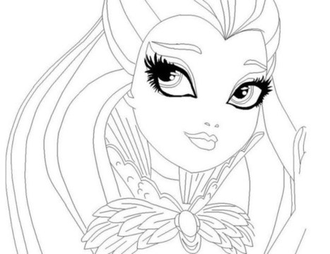 Top 40 Ever After High Coloring Pages Zcolori