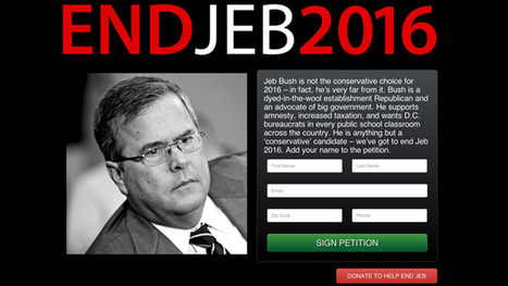 Conservatives are already raising money to derail Jeb Bush's 2016 bid   Common Sense Politics   Scoop.it