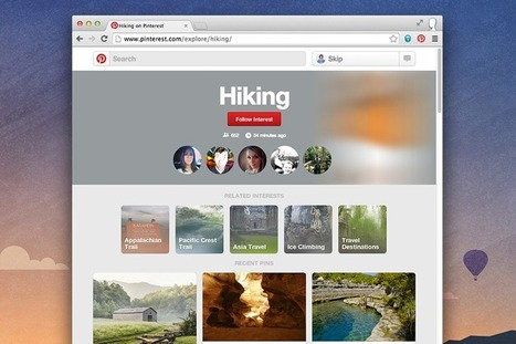 Pinterest Gives Users The Ability To Follow Topic Feeds | Pinterest | Scoop.it