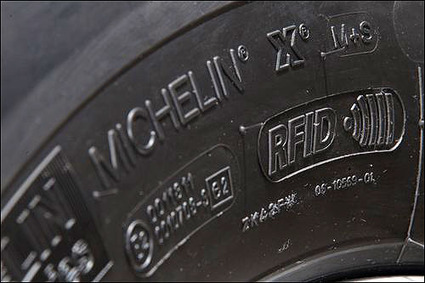 Michelin Uses RFID to Track Tire Pressure and Tread for London Bus Company - RFID Journal | Objets connectés - Usages enrichis | Scoop.it
