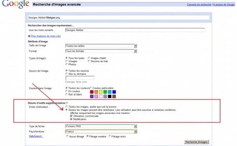 [Tutoriel] Faire une recherche d'images en Creative Commons avec Google Images   Time to Learn   Scoop.it