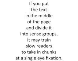 Reading speed | Dalhousie ESL Programs | Scoop.it