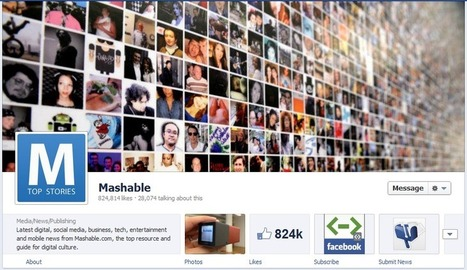 10 Online Marketing Brands Using the New Facebook Pages with Timeline | Social Media Follows | Scoop.it