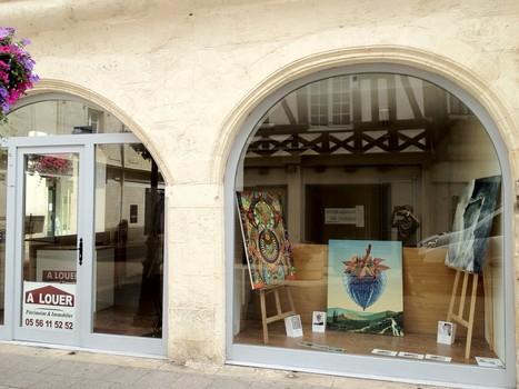 Exposition permanente de Jean-Charles Belliard au 53 rue de la République | Vitrines d'art à Sainte Foy la Grande - 2013 | Scoop.it