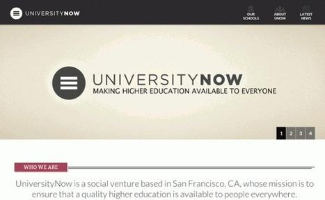 UniversityNow comenzará a ofrecer carreras universitarias completas vía web   Recull diari   Scoop.it
