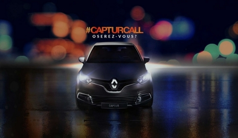 #CapturCall : comment Renault investit les réseaux sociaux pour son crossover | Be Marketing 3.0 | Scoop.it