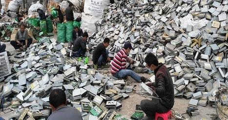 La quantité de déchets électroniques en Asie atteint un seuil alarmant | Planete DDurable | Scoop.it