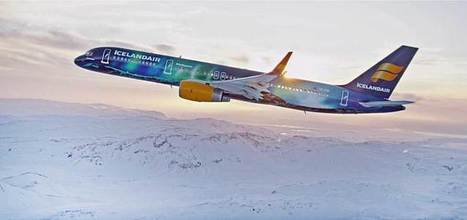 Icelandair's Hekla Aurora Boeing 757 is stunningly beautiful | Allplane: Airlines Strategy & Marketing | Scoop.it
