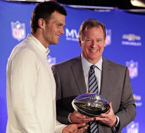 Tom Brady will be suspended by Roger Goodell for role in DeflateGate ... - New York Daily News | CLOVER ENTERPRISES ''THE ENTERTAINMENT OF CHOICE'' | Scoop.it