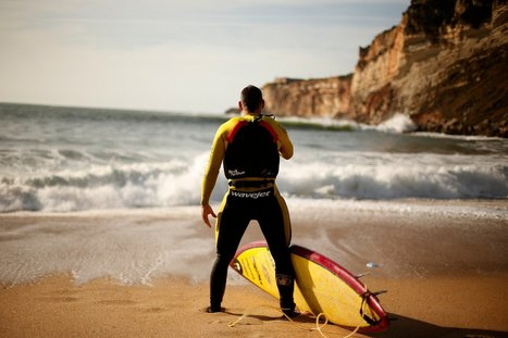 On Portugal Beach, Riding a Wave That Hits Like a Quake - New York Times | surf | Scoop.it