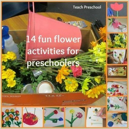 14 fun flower activities for preschoolers   Teach Preschool   Teach Preschool   Scoop.it