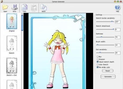 Cartoon Generator: convierte fotos en dibujos animados con este 'software' gratuito | De las TIZAS a las TICas | Scoop.it