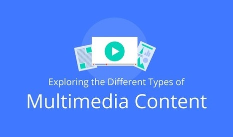 Exploring the Different Types of Multimedia Content - Visual Contenting | Visual Marketing & Social Media | Scoop.it