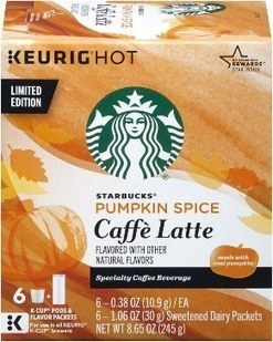 Starbucks Will Launch Pumpkin Spice Latte K-Cups This Fall | Kickin' Kickers | Scoop.it