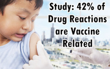 """Groundbreaking Study: 42% of Drug Reactions are Vaccine Related (""""were we all suckered big time?"""") 