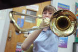 Fifth-grader born without hands plays trombone in honors band | It's Show Prep for Radio | Scoop.it