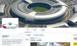 'Hello, world': GCHQ joins Twitter | Information Technologies and Political Rights | Scoop.it